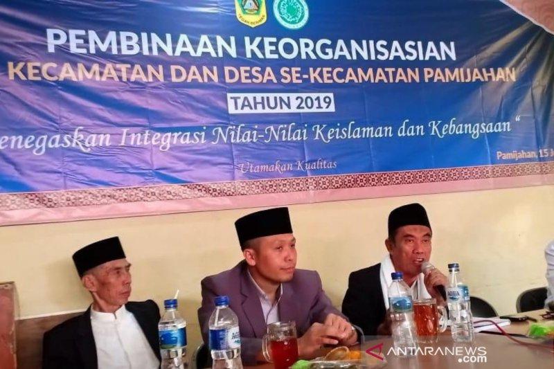 Pascapertemuan Jokowi-Prabowo, MUI Bogor lakukan pembinaan organisasi