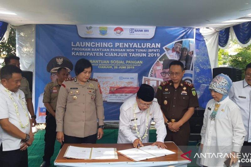 E-warong di Cianjur diinspeksi guna evaluasi program BPNT