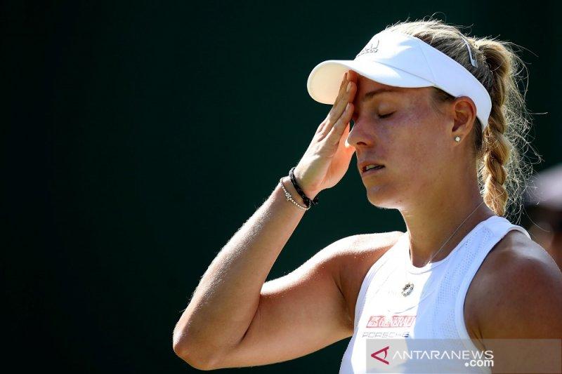 Kerber pisah dari pelatih terkait gagal di Wimbledon