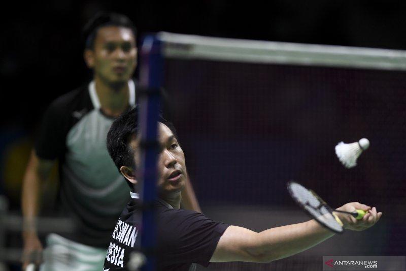 Hendra/Ahsan lolos ke semifinal Japan Open 2019