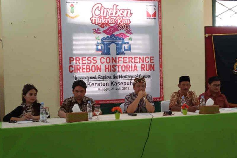 Lomba lari lintasi bangunan bersejarah di Cirebon digelar 31 Agustus