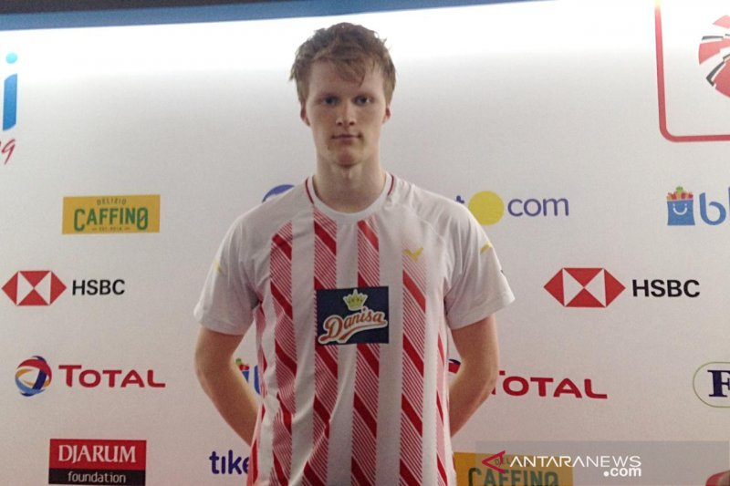 Antonsen kecewa jadi runner-up tunggal putra Indonesia Open 2019