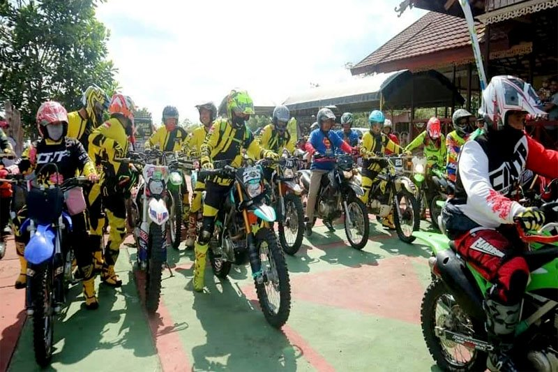 600 rider meriahkan Bhayangkara One Day Trail Adventure di Bartim