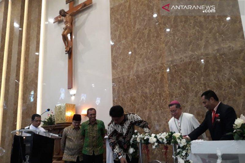 Gubernur : Gereja Katolik bentuk ketangguhan umat dari berbagai pengaruh