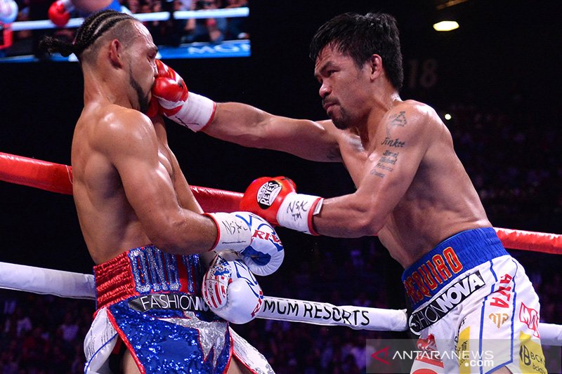 Kubu Pacquiao mempertimbangkan gelar pertarungan lawan McGregor
