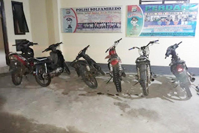 Polisi amankan sepeda motor berknalpot bising