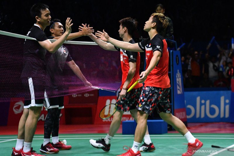 Turnamen bulu tangkis Indonesia Open 2020 resmi ditunda
