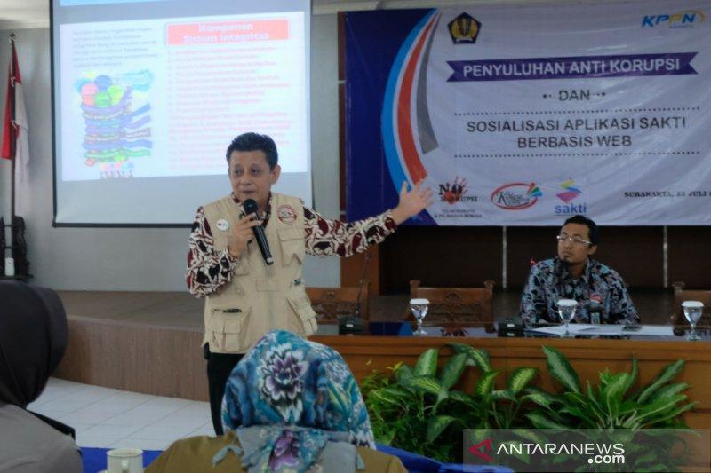 KPPN Surakarta ajak satker bebas dari korupsi