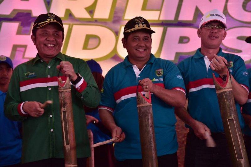 Gubernur Deru apresiasi gerakan Banyuasin sehat