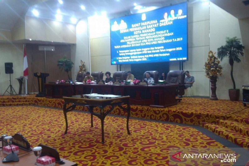 Badan anggaran DPRD Manado berikan rekomendasi terhadap pelaksanaan APBD 2018