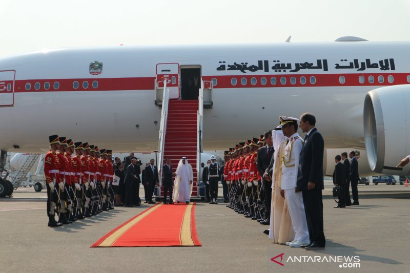 Presiden jemput Putra Mahkota Abu Dhabi di Bandara Soekarno Hatta