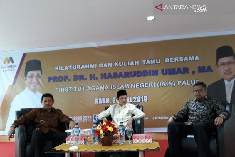 Komisaris Bank Mega Syariah bicara bank syariah di IAIN Palu
