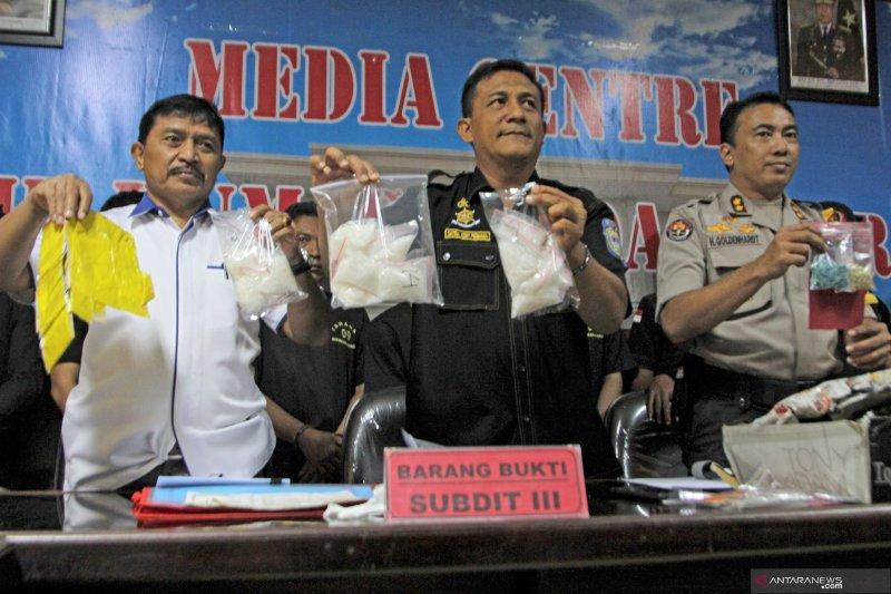 Tujuh bulan, Polda Sultra tangani 21 kasus Narkoba