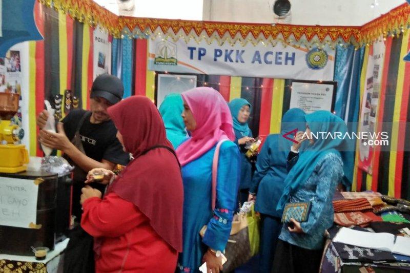 Kopi Gayo khas Aceh minuman paling diminati pada pameran HKG-PKK di Padang
