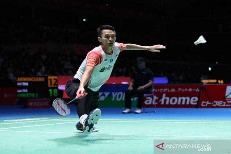 Jonatan siap bermain sulit lawan Momota di final Japan Open