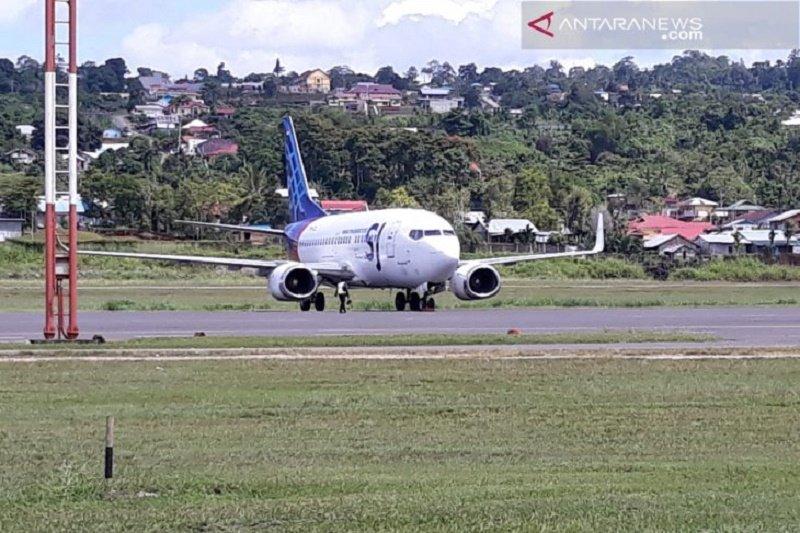 Pesawat Sriwijaya Air kembali alami masalah di Bandar Udara Rendani Manokwari