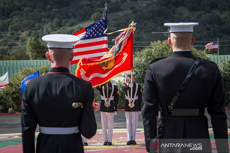 16 marinir AS ditahan tersandung masalah dugaan perdagangan manusia