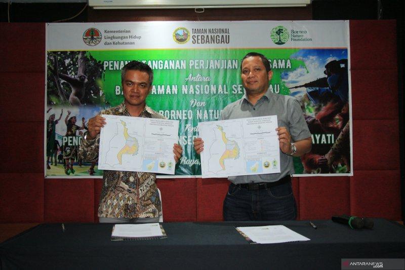 BNF-Taman Nasional Sebangau kerjasama konservasi hayati