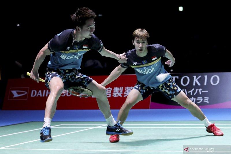 Jadwal semifinal China Open, Minions akan adu kekuatan dengan Fajar/Rian