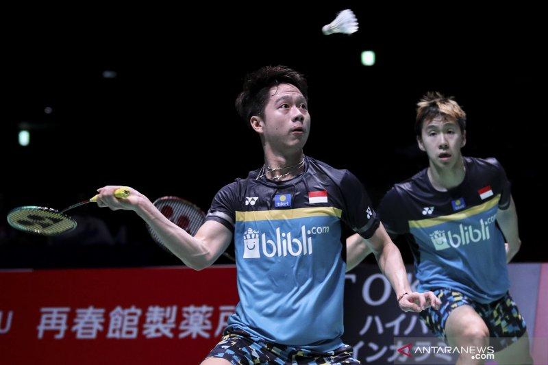 Minions berjalan mulus usai kalahkan Hoki/Kobayashi di China Open