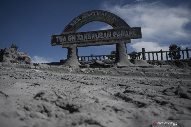 Ridwan Kamil minta warga tak sebar hoaks erupsi Gunung Tangkuban Parahu