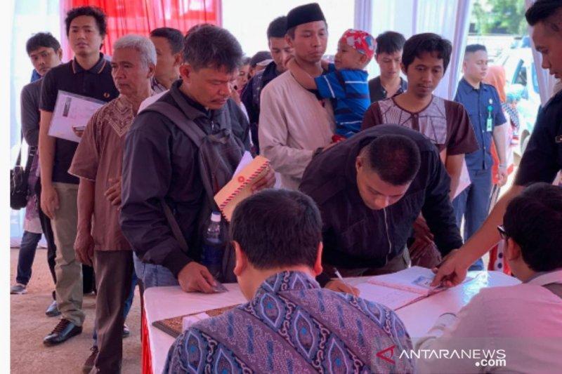 220 pendaftar mengajukan permohonan kredit rumah Dp Rp0 hari pertama