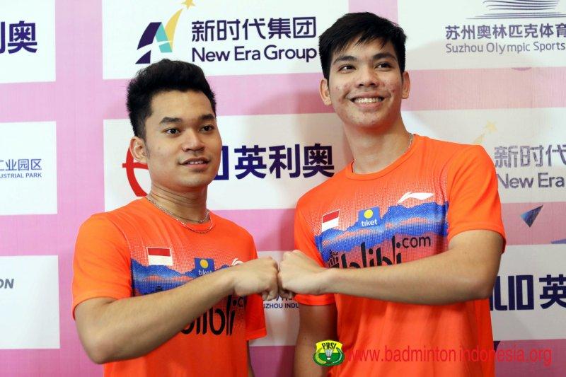 Leo/Daniel rebut gelar kedua untuk Indonesia di Asia Junior Championships