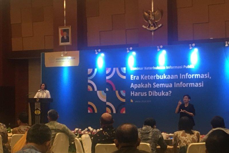 Menteri Keuangan sanggupi tantangan soal keterbukaan informasi