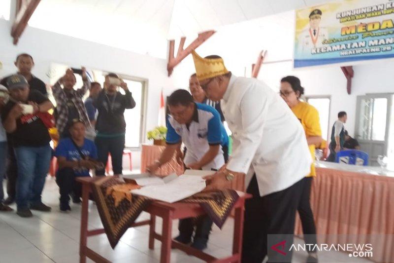 Pemkab Kepulauan Sangihe hibahkan tanah untuk Polnustar