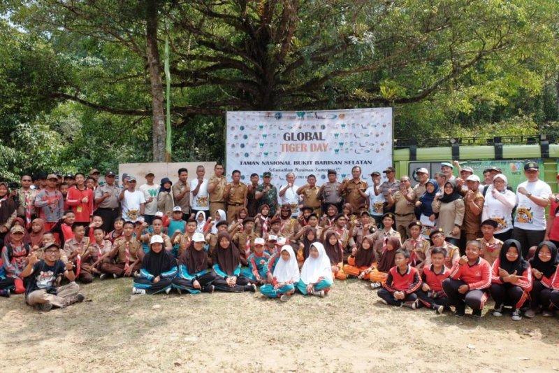 "Balai TNBBS dan WCS-Sumatran Tiger Project gelar kampanye ""Global Tiger Day"""