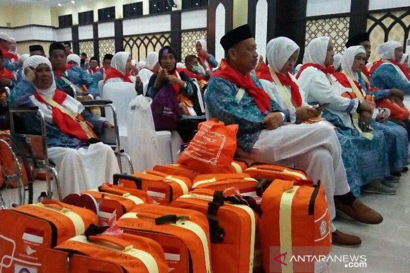 JCH Kloter 32 Embarkasi Hasanuddin Makasar bertolak ke Mekkah