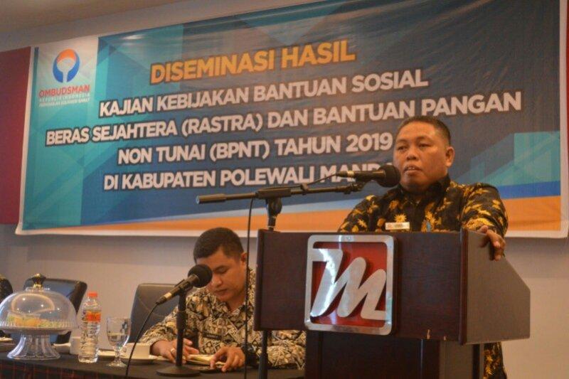 Ombudsman Sulbar : penyaluran BPNT tidak berjalan mulus
