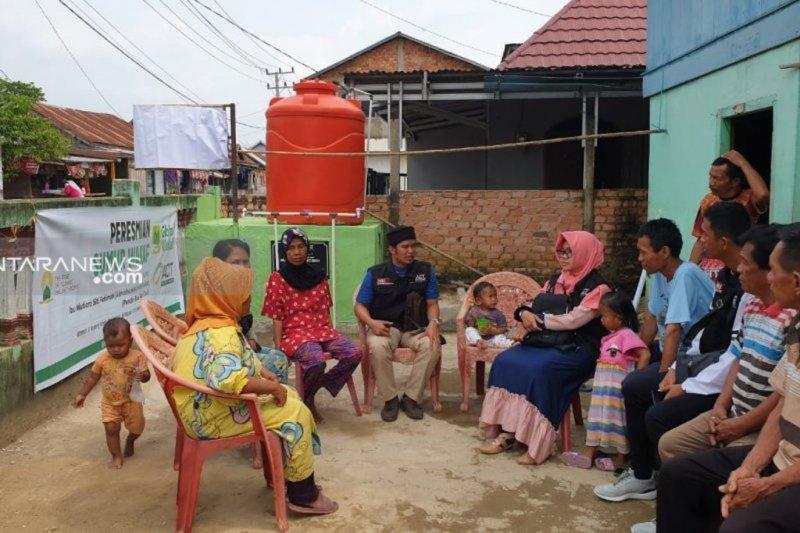 ACT target salurkan 100.000 liter air bersih di Sumsel