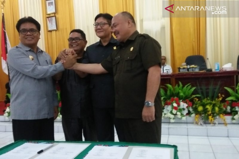 Pemkab dan DPRD Sangihe setujui KU-PPAS tahun 2020