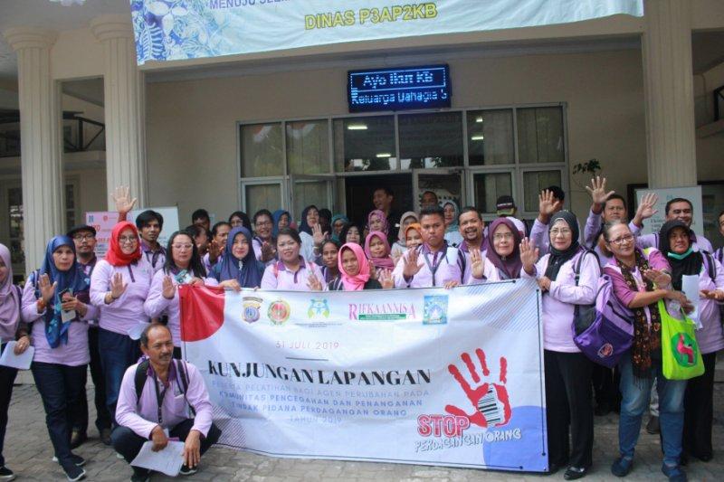 Kementerian PPPA studi penanganan perdagangan orang ke Kabupaten Sleman