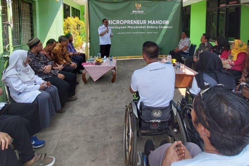 Baznas bantu kelompok UMKM disabilitas di Jakarta