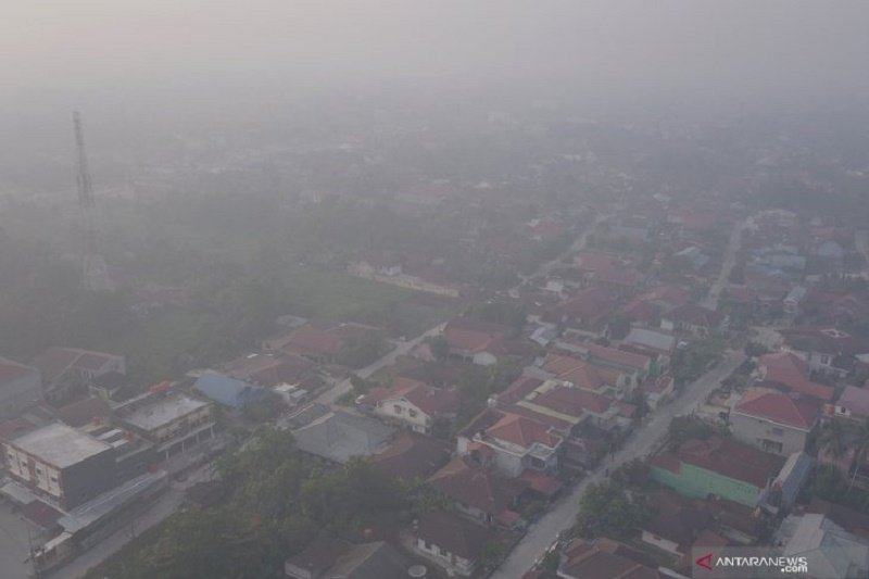 BMKG: Sebanyak 152 titik panas di Sumatera didominasi Riau