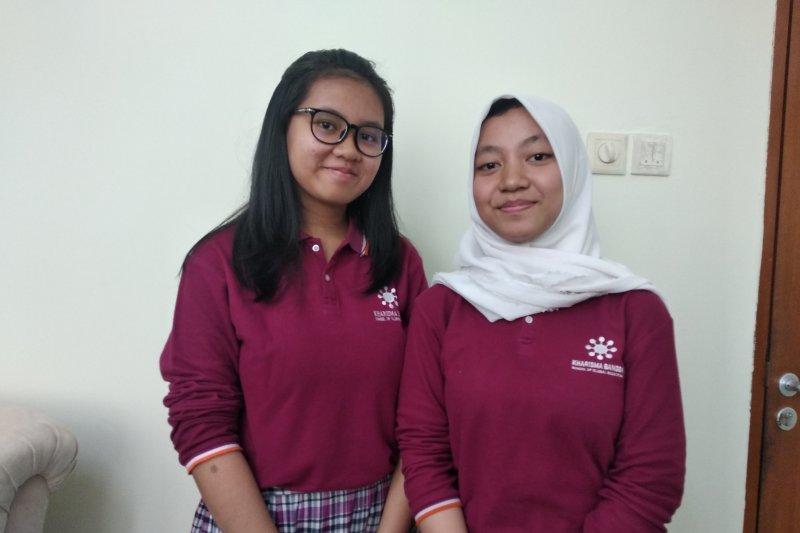 Dua siswi Indonesia raih medali emas di Korea Selatan