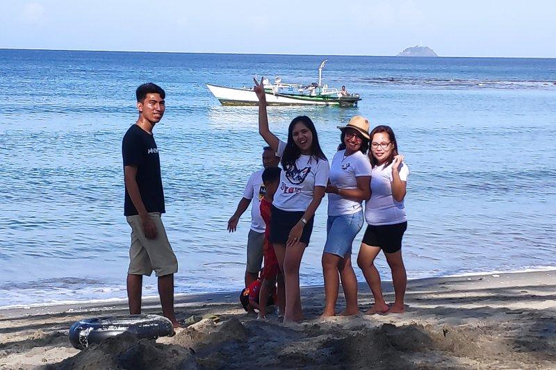 Pantai Lumintang salah satu potensi wisata Minahasa Tenggara