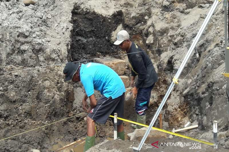 Candi Petirtaan Mantingan runtuh karena bencana alam, kata BPCB