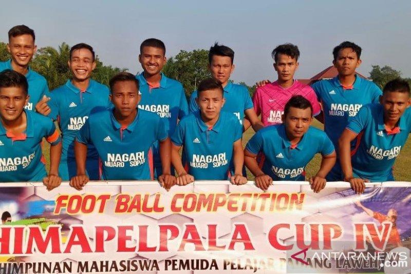 Meriahkan HUT RI, Nagari Muaro Sopan gelar turnamen Himapelpala Cup IV