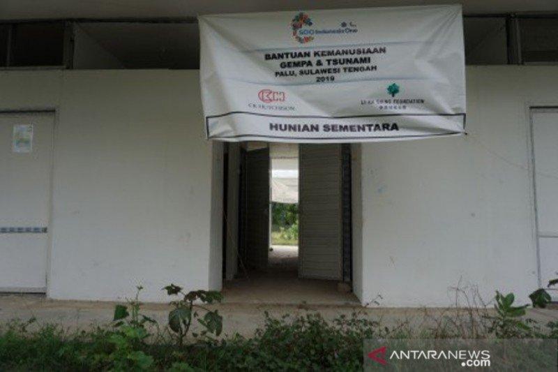 Ribuan bilik huntara di Palu, Sigi dan Donggala belum terisi