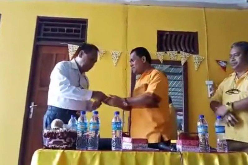 Stef Bria resmi jadi kader Partai Golkar