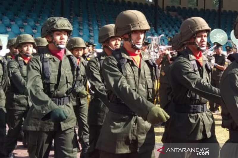 Enzo, WNI keturunan Prancis ikuti Pendidikan Integrasi Akademi TNI