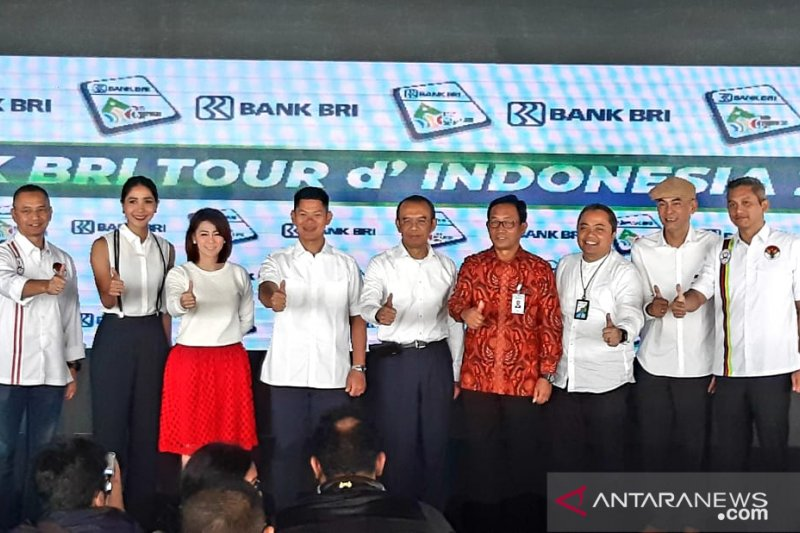90 cyclists from 22 nations pursue glory Tour d'Indonesia