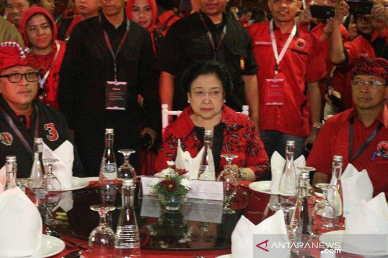 Hari ini, Megawati akan dikukuhkan kembali sebagai ketua umum PDIP