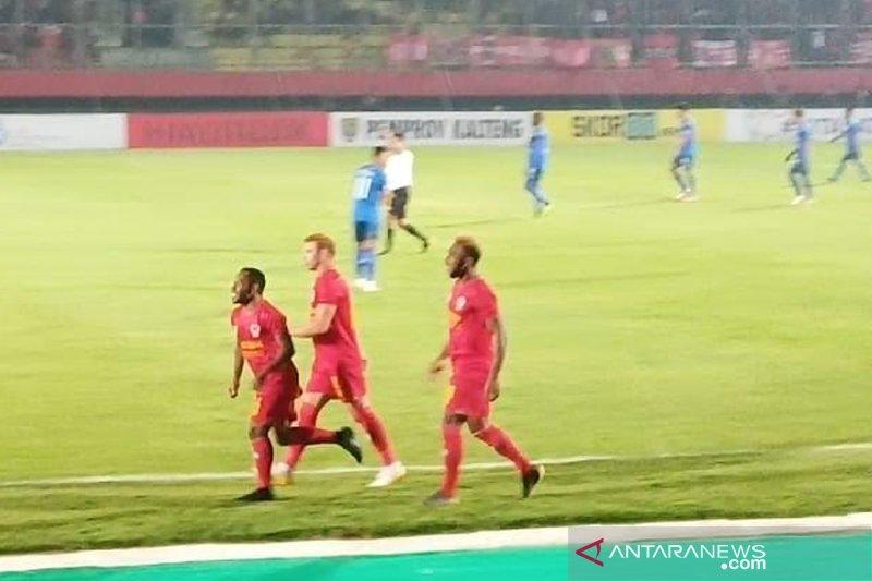 Kalteng Putra unggul atas Arema FC dibabak pertama