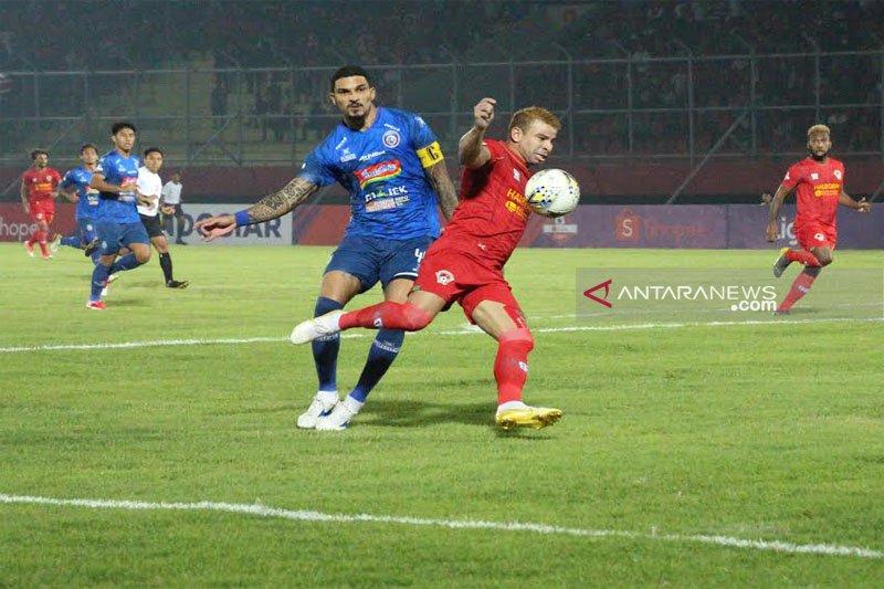 Kalteng Putra lumat Arema FC 4-2