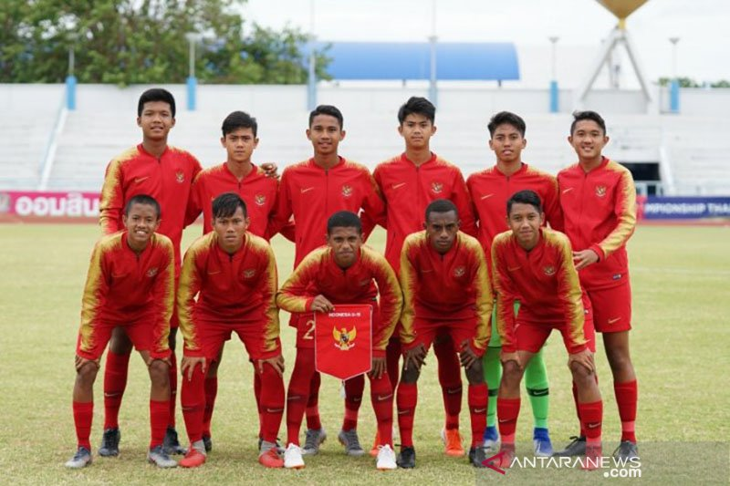 Timnas U-15 Indonesia bertekad raih peringkat ketiga Piala AFF U-15 2019