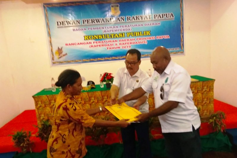 DPRP gelar uji publik 10 Raperdasus di Biak Numfor